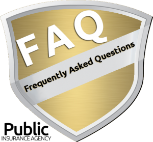 Frequently asked question from Public Insurance Agency